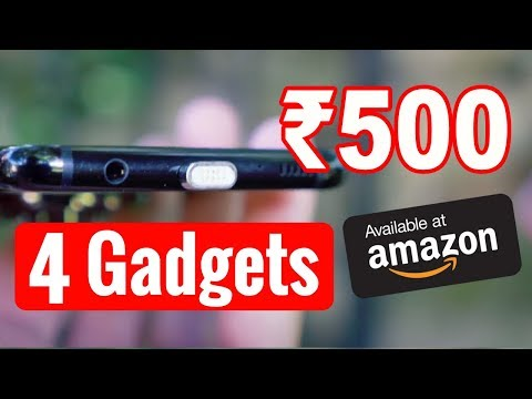 4 Smartphone Gadgets Under 500 Rupees On Amazon | Cool Gadgets