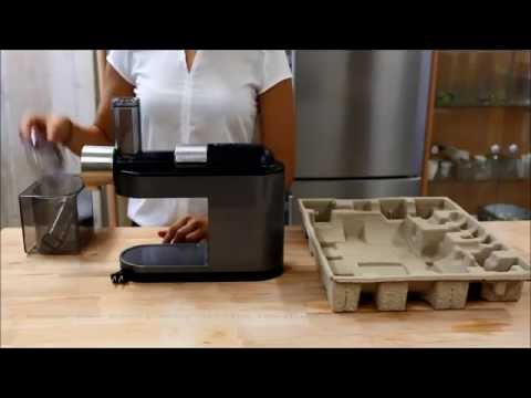 How to assemble your Philips Avance Masticating Juicer for the first time