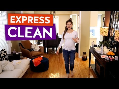 Clean With Me: Living Room & Dining Room! (Express Clean)