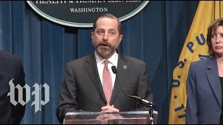 WATCH LIVE HHS Secretary CDC Provide Update On Coronavirus Threat In US
