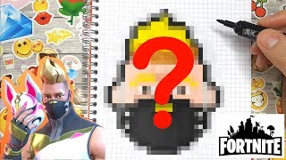 Comment dessiner un sniper de Fortnite (Pixel Art)