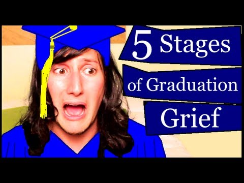 5 Stages of Graduation Grief