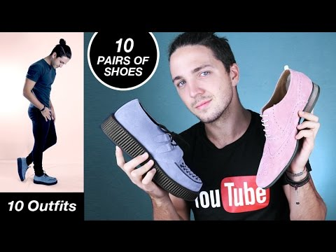 10 Pairs Of Shoes & 10 Outfits - Affordable Men's Shoes