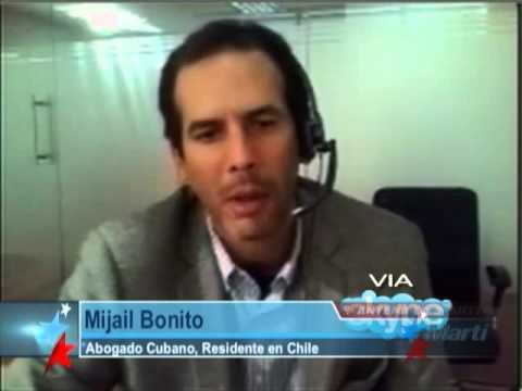Cubanos residentes en Chile piden ayuda para...