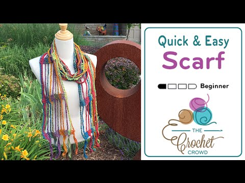 How To Crochet A Scarf: Quick & Easy