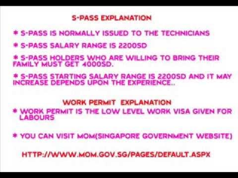 Singapore Visa Types... Visit ideayourtrip.com