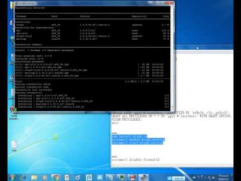 All steps to setup webmail server roundcubemail-1.2.3 from CentOS 7 clean OS