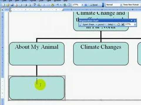 Creating an Organisation Chart