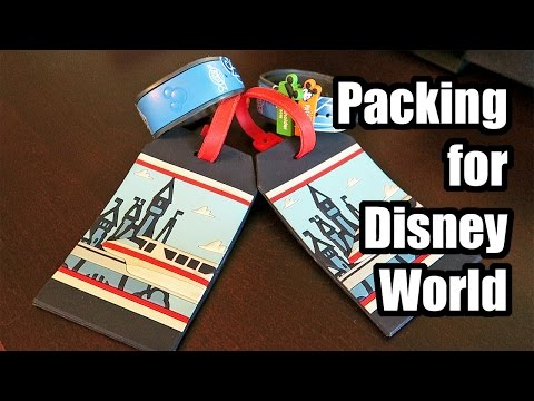 Packing for Disney World! Tips, lists and more!
