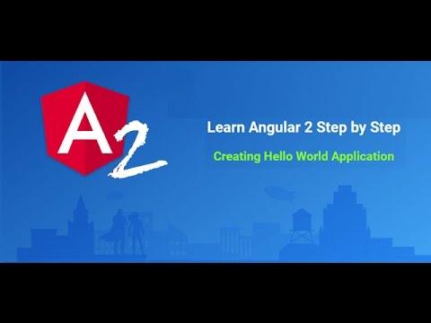 Learn Angular 2 step by step