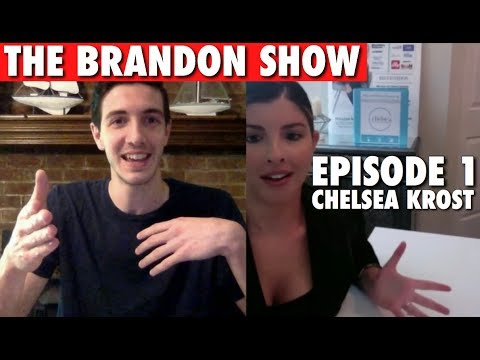 #THEBRANDONSHOW Episode 1 | LIVE with Chelsea Krost