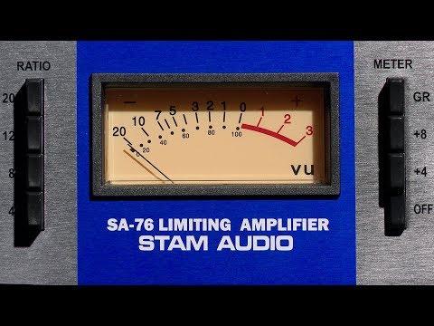 Stam Audio SA-76 Review Audio Hardware FET Compressor