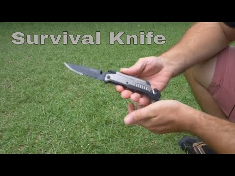 BlizeTec Survival Knife - 5 in 1 Tactical Knife