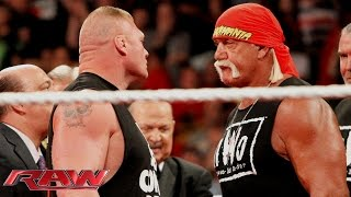 Brock Lesnar crashes Hulk Hogan