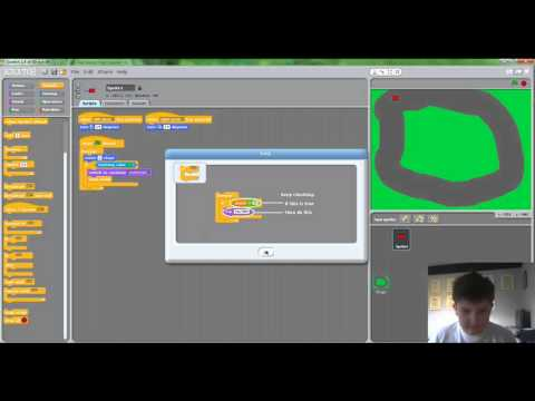 Scratch Tutorial - How To Make A One Or Two Player Racing Game