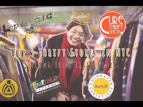 Top 5 Thrift Stores in NYC (All along the L Train) | Dynasty George