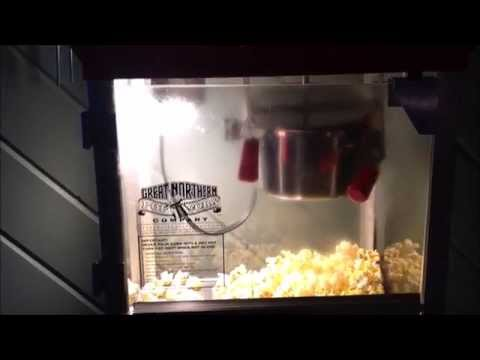 GREAT NORTHERN POPCORN  MACHINE IN ACTION & Hands-On