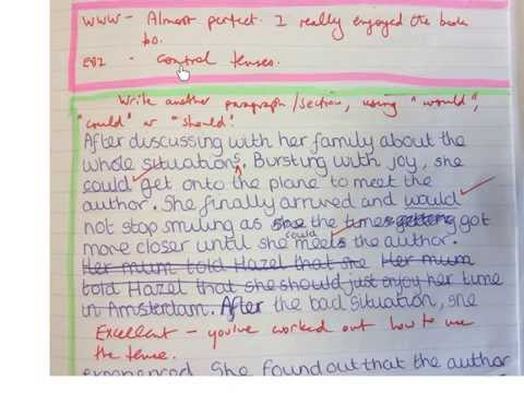 Think Pink Go Green How to Get Students to Improve Their Writing