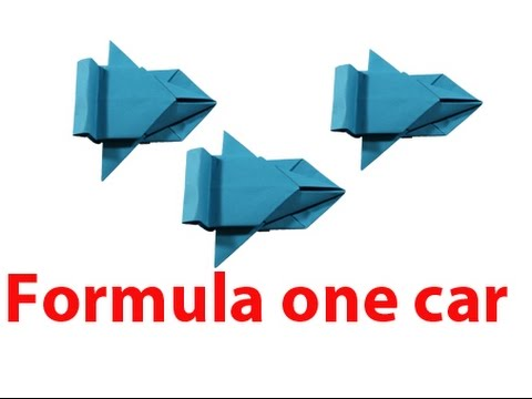 How to make formula one car