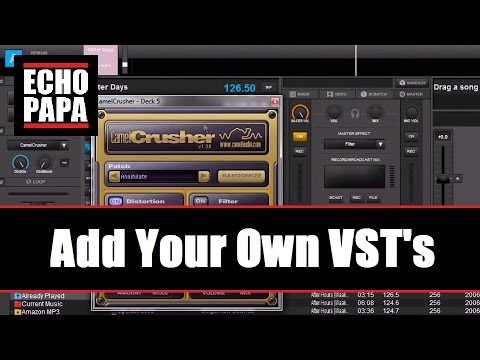 Virtual DJ 8: Add Your Own VST Effects