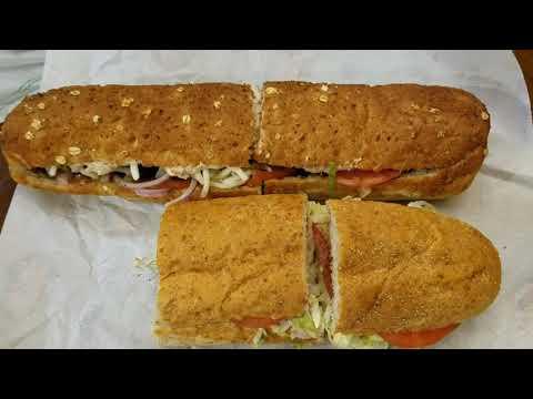 Subway Tuna Sandwich vs Jersey Mike's Tuna Sandwich