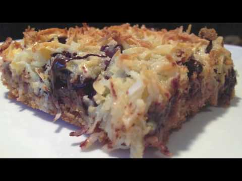 How to make Chewy...Gooey...Coconut Magic Bars Recipe | MmGood.com