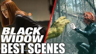 Black Widow - All Best Scenes From Iron Man 2 To Avengers Infinity War