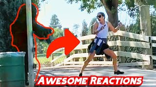 AMAZING Reactions | Bushman PRANK | Bay Area 2020 | Try not to laugh