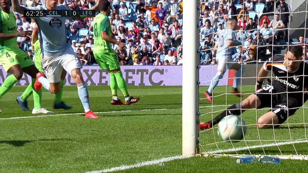 Höjdpunkter: Trots tidig utvisning - Celta Vigo besegrade Leganés  - TV4 Sport