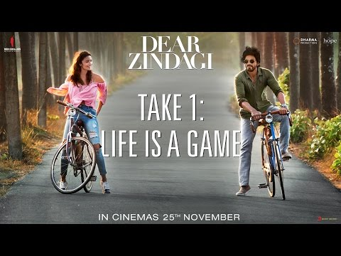 Dear Zindagi Take 1: Life Is A Game   Teaser   Alia Bhatt, Shah Rukh Khan