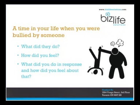 Webinar #26, Understanding, Managing, and Preventing Workplace Bullying