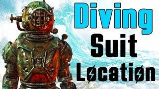 Fallout 4 Far Harbor - ALL UNIQUE POWER ARMOR SECRET