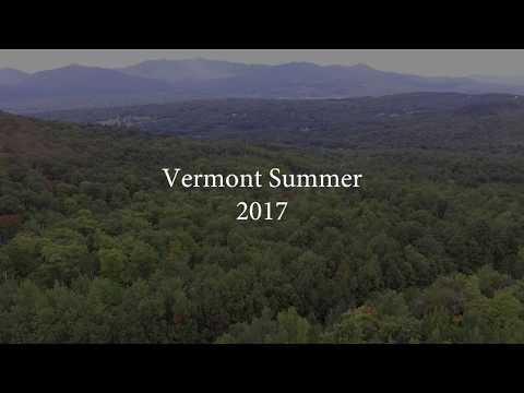 Drone Footage Vermont Summer