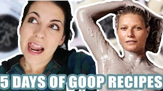Download I Ate Only Gwyneth Paltrow & Goop Recipes For 5 Days Video