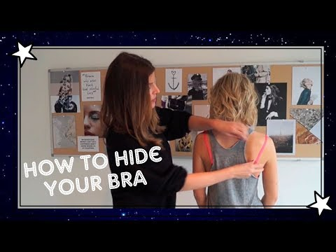 Hide your bra when wearing a racerback top: fashion stylist Manon Meijers tells how!