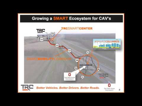 Smart Mobility, Smart Cities and The Columbus Smart Cities Challenge 1