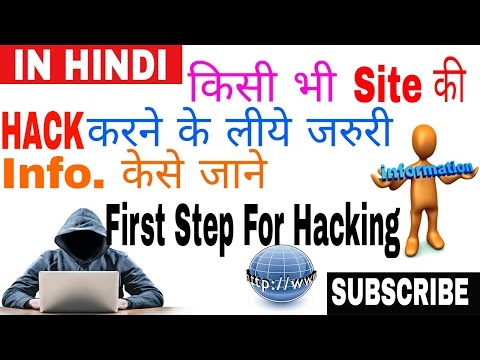 How to Get all Hacking & Personal information about any WebSite (HINDI)