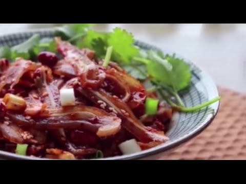 Cold Pig Ears with Chili 涼拌豬耳