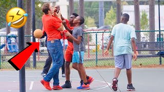 TRUMP VOTER PLAYS BASKETBALL IN THE HOOD | Official Tracktion