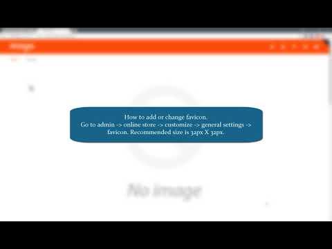 Header :: How to add logo, favicon & change header type :: Mogo Shopify Theme
