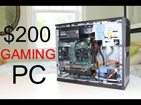 BEST $200 Budget Gaming PC! (2016)