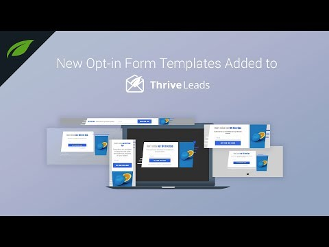 Grab the Attention with these Modern Opt-in Forms