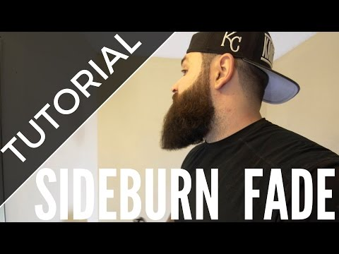 How to fade your sideburns into your beard | Tutorial