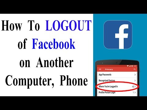 How To log out of Facebook on another computer, phone or tablet - YKS tech news