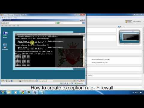 Windows Firewall Exception in Windows Server 2008