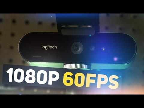 1080p 60fps WEBCAM TIME! - Logitech BRIO 4K Pro Webcam 1080p 60 FPS Quality Test via OBS Studio