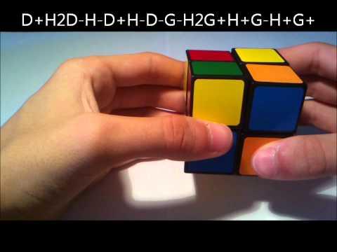 rubik's cube 2x2 solution ( français )