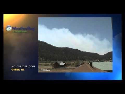 Earth Networks - WeatherBug Camera Time-Lapse of the Arizona Wallow Fire