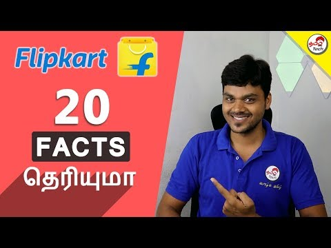 Flipkart's 20 Amazing FACTS | Tamil Tech