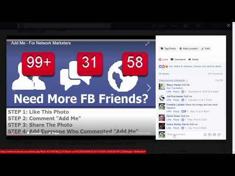 How to add 5k friends in your Facebook account Fast (Part 1)